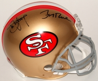 Steve Young & Jerry Rice Signed 49ers Full-Size Authentic On-Field Helmet (JSA COA)