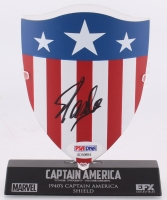 "Stan Lee Signed ""Captain America: The First Avenger"" Replica Prop Shield (PSA COA)"