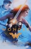 "Gal Gadot & Chris Pine Signed ""Wonder Woman"" 11x17 Photo (JSA COA)"