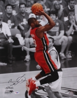 Dwyane Wade Signed Heat 16x20 Photo (PSA COA)