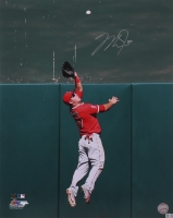 Mike Trout Signed Angels Photo (MLB Hologram)