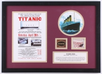 1994 Titanic Wreckage 15.5x21.5 Custom Framed Authentic Coal Display (RMS Titanic COA)