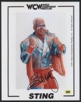 """Steve """"Sting"""" Borden Signed WCW 8x10 Photo (CAS COA)"""