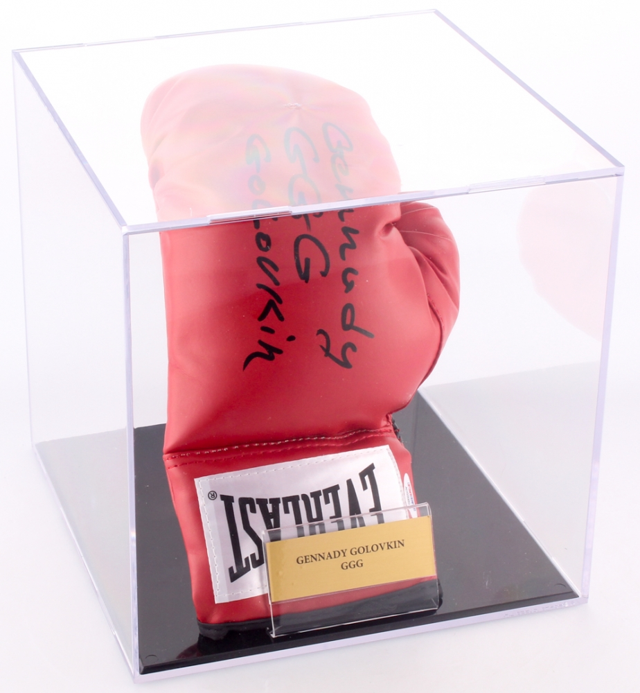 715c5bfb36f Gennady Golovkin Signed Everlast Boxing Glove Inscribed
