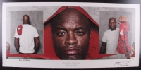 "Anderson Silva ""The Real Spiderman"" Signed 16x34 UFC Fine Art Giclee by Iconic Sports Photographer Eric Williams #18/30 (PA LOA & Beyond the Cage COA)"