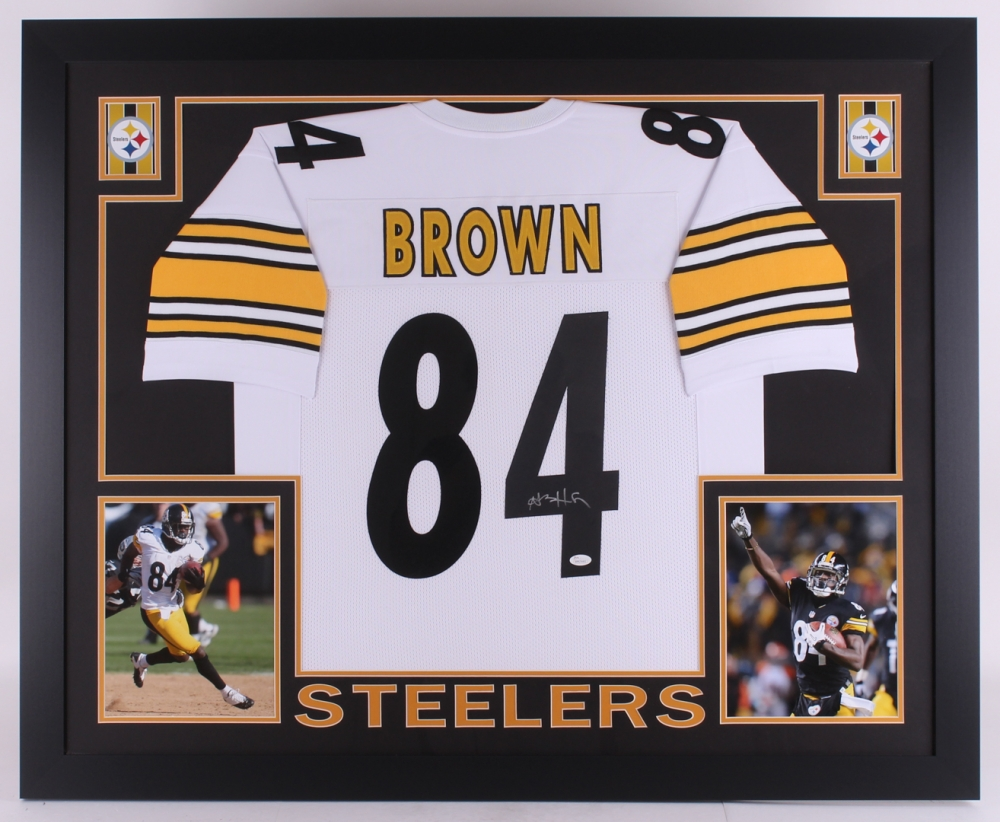 Antonio Brown Signed Steelers 35x43 Custom Framed Jersey (JSA COA) at  PristineAuction.com 5a169825c