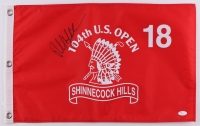 Phil Mickelson Signed 13.5x19.5 104th U.S. Open Golf Pin Flag (JSA COA)