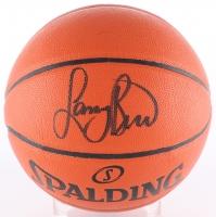 Larry Bird Signed Game Ball Series Basketball (Bird Hologram)