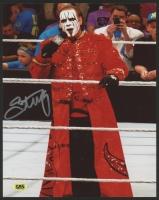 "Steve ""Sting"" Borden Signed WWE 8x10 Photo (CAS COA)"