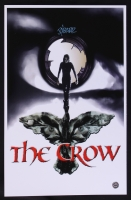 "James O'Barr Signed ""The Crow"" 11x17 Photo (Legends COA)"