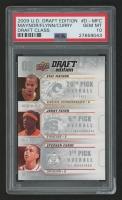 2009-10 Upper Deck Draft Edition Draft Class #DMFC Eric Maynor/Jonny Flynn/Stephen Curry (PSA 10)