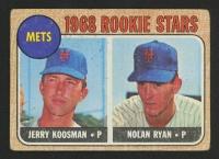 1968 Topps #177 Rookie Stars Jerry Koosman RC / Nolan Ryan RC