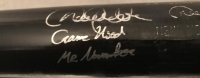 "Derek Jeter Signed 2002 Yankees Game-Used Louisville Slugger Baseball Bat Inscribed ""Mr. November"" & ""Game Used"" With High Quality Display Case (PSA LOA, Steiner COA & MLB Hologram)"
