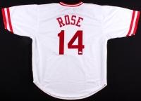 Pete Rose Signed Reds Jersey (JSA COA)