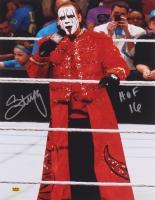 "Steve ""Sting"" Borden Signed WWE 11x14 Photo Inscribed ""HOF 16"" (CAS COA)"