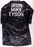 Mike Tyson Signed Fight Model Full Size Boxing Robe (PSA Hologram)