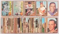 Lot of (42) 1962 Topps Baseball Cards