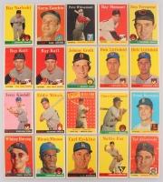 Lot of (20) 1958 Topps Baseball Cards