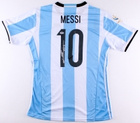 Lionel Messi Signed Nike Barcelona Jersey (PSA LOA)