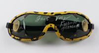 "Jacinto Vasquez Signed Jockey Goggles Inscribed ""Foolish Pleasure"" (MAB Hologram) at PristineAuction.com"