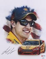 Joey Logano Signed NASCAR Limited Edition 11x14 Photo #/22 (PA COA) at PristineAuction.com