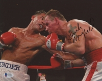 "Micky Ward Signed 8x10 Photo Inscribed ""Irish"" (Beckett COA)"
