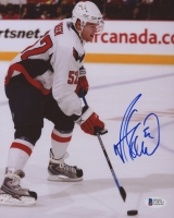 Mike Green Signed Capitals 8x10 Photo (Beckett COA)