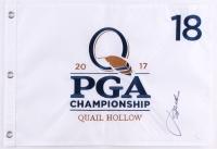 Jordan Spieth Signed 13.5x19.5 2017 PGA Championship Golf Pin Flag (JSA COA)