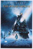 "Chris Van Allsburg Signed ""The Polar Express"" 12x18 Print (JSA COA)"