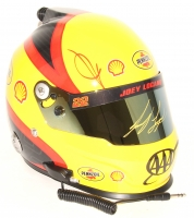 Joey Logano Signed NASCAR Shell-Penzoil Full-Size Helmet (PA COA)