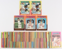 Lot of (264) 1975 Topps Baseball Cards with #5 Nolan Ryan, #4 Al Kaline, #50 Brooks Robinson