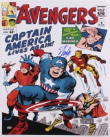 "Stan Lee Signed ""The Avengers"" 16x20 Photo (PSA COA)"