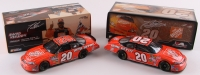 Lot of (2) Tony Stewart LE NASCAR Die Cast Cars with #20 Home Depot 2007 Monte Carlo SS & #20 Home Depot Twin 150's Raced Win 2007 Monte Carlo SS     Dale Earnhardt Jr. LE NASCAR #8 Dale Earnhardt Tribute Concert 2003 Monte Carlo 1:24 Die Cast Car