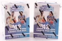 Lot of (2) 2017/18 Panini Contenders Draft Picks Basketball Hobby Box