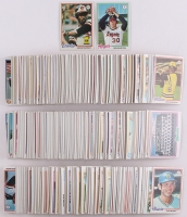 Near Set of (726/727) 1978 Topps Baseball Cards with #36 Eddie Murray RC, #400 Nolan Ryan