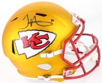 Tyreek Hill Signed Chiefs Full-Size Blaze Speed Helmet (TSE COA)