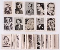 Lot of (102) 1931 Josetti-Filmbilder Cigarettes Cards with Hoot Gibson, Al Jolson, Gloria Swanson