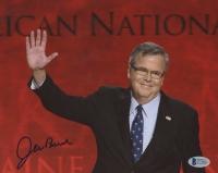 Jeb Bush Signed 8x10 Photo (Beckett COA)