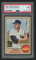 1996 Topps Mantle #18 Mickey Mantle 1968 Topps (PSA 9)