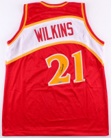Dominique Wilkins Signed Jersey (TriStar Hologram) at PristineAuction.com