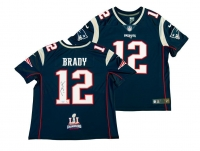 Tom Brady Signed Patriots Limited Edition Nike Jersey with Super Bowl 51 Patch (TriStar Hologram) at PristineAuction.com