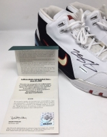 LeBron James Signed Original Air Zoom Generation Basketball Shoes (UDA COA) at PristineAuction.com