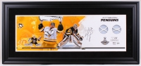 Matt Murray Signed Pittsburgh Penguins 17x37 Custom Framed Limited Edition Game-Used Finals Net Display (Fanatics Hologram)