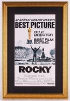 Vintage United Artists Rocky 17.5x25.5 Custom Framed Movie Poster Display