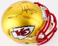 Tyreek Hill Signed Chiefs Blaze Speed Mini Helmet (TSE COA) at PristineAuction.com