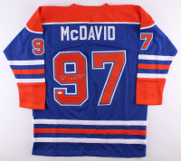 Connor McDavid Signed Oilers Jersey (JSA Hologram) at PristineAuction.com
