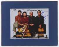 """Seinfeld"" 11x14 Custom Framed Photo Signed By (4) Cast Members Including Jerry Seinfeld, Julia Louis-Dreyfus, Jason Alexander & Michael Richards (Beckett LOA)"