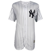 "Aaron Judge Signed Yankees Majestic Authentic Flex Base Jersey Inscribed ""2017 AL ROY"" (Fanatics Hologram) at PristineAuction.com"