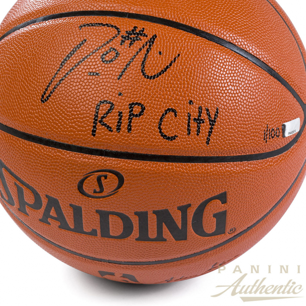 0ad42906a50 Damian Lillard Signed Limited Edition NBA Game Ball Series Basketball  Inscribed