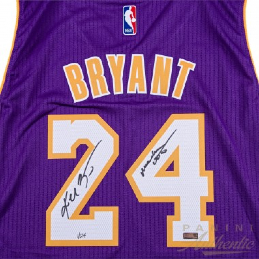 dffa449cab8 Kobe Bryant Signed Limited Edition Lakers Adidas Jersey Inscribed